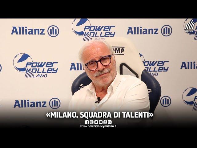 Powervolley Milano, intervista al presidente Lucio Fusaro