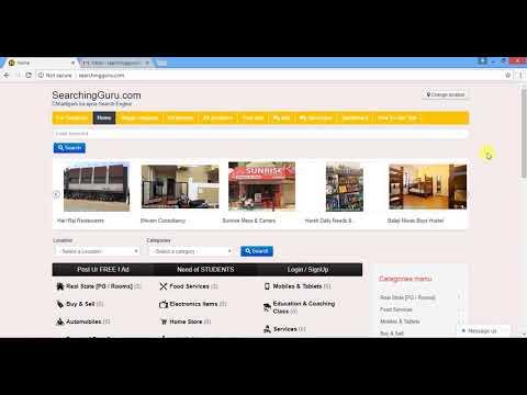 How to Get Register on SearchingGuru.com & Registered User Vs Guest user  Hindi/Urdu Tutorial
