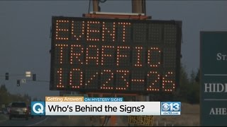 Mystery Signs In Roseville Were Traffic Warnings For Upcoming Aftershock Festival