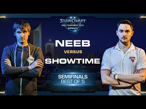 Neeb vs ShoWTimE PvP - Semifinals - WCS Leipzig 2018 - StarCraft II