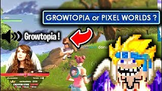 Growtopian DONATING TO FAMOUS STREAMERS ( Funny ) !!!