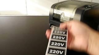 IMPRESSÃO E APLICAÇÃO DE IDENTIFICAÇÃO DE TOMADA 220V   TL3
