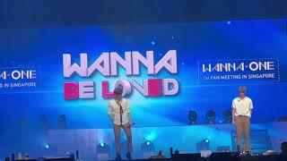 170922 Wanna One in Sg - Ending Kang Daniel