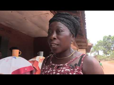 Mamie Kabba talks on Garri production in Sierra Leonean