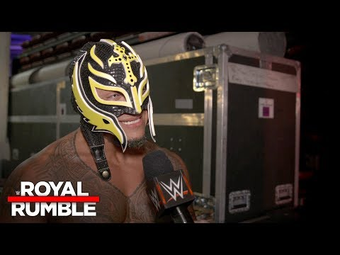 Rey Mysterio reacts to his surprise Royal Rumble Match return: Exclusive, Jan. 28, 2018