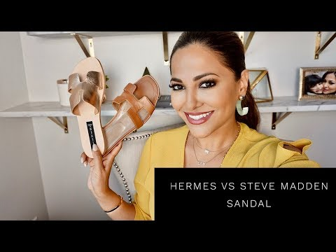 HERMES ORAN vs STEVE MADDEN GREECE SANDALS | Lina Noory