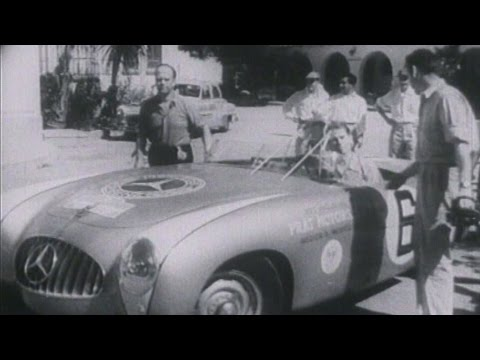 1-2 finish at 1952 Carrera Panamericana - Mercedes-Benz original