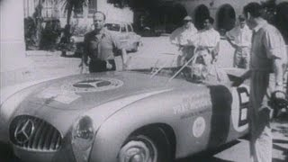 Mercedes-Benz TV: 1-2 finish at 1952 Carrera Panamericana.