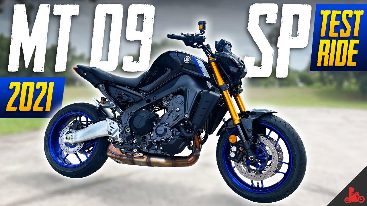 2021 Yamaha MT-09 SP Test Ride!
