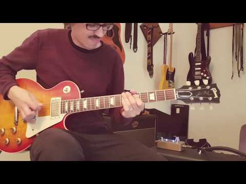 Lovepedal Tchula (Boost On) With Les Paul R9