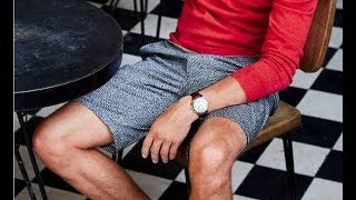 How grown men can actually look good in shorts