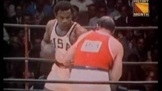 George Foreman Vs Ionas Chepulis (1968 Gold Medal Boxing Match)