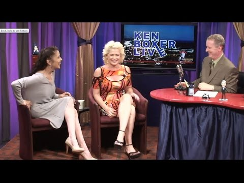 """Ken Boxer Live,"" Actress Kristy Swanson, ""Buffy the Vampire Slayer,"" with Tai Babilonia"