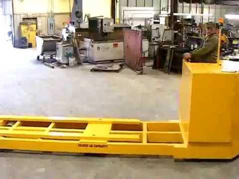 Titan Platform Truck 3187: 20,000 lb Capacity
