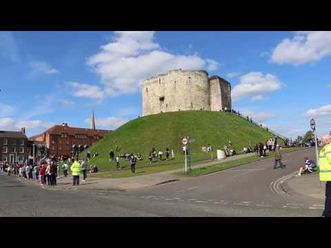 St George's Day Parade in York 2017