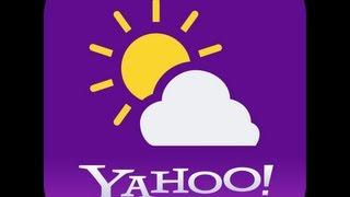 Yahoo Weather App Demo - Simple yet elegant
