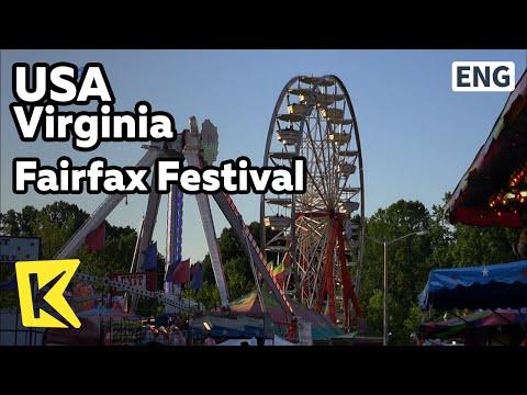 【K】USA Travel-Virginia[미국 여행-버지니아]페어팩스 축제/Virginia/Fairfax Festival