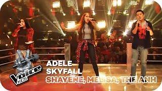Adele - Skyfall (Shayene, Melisa, The Anh) | Battles | The V...