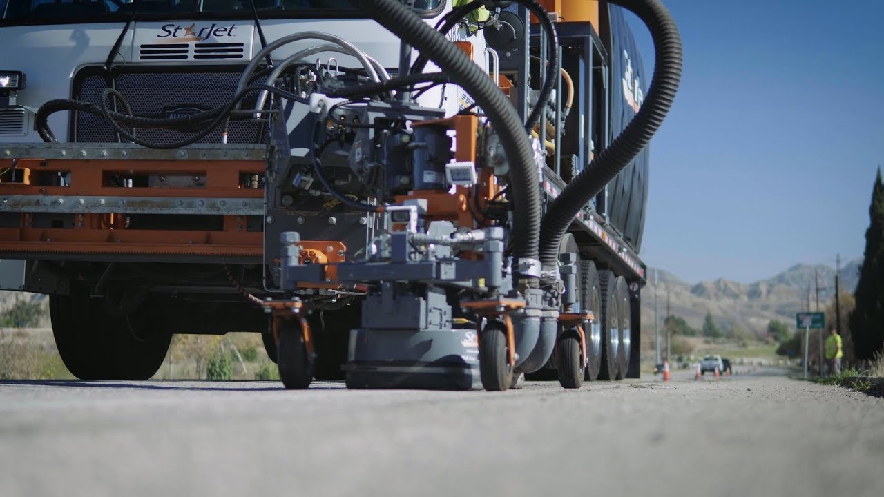 StarJet Waterjet Units - Runway Rubber Removal Vehicles | NLB Corp