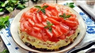 """Салат """"Красная шапочка"""". Всегда готовлю на праздничный стол - съедают первым."""
