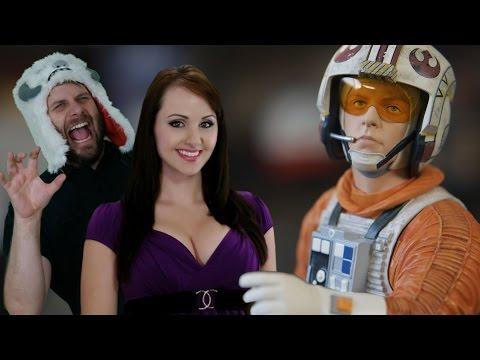 Star Wars Collectibles! Gentle Giant Jumbo Figure & Luke Mini Bust! Toys Ahoy Ep. 5 | Screen Team