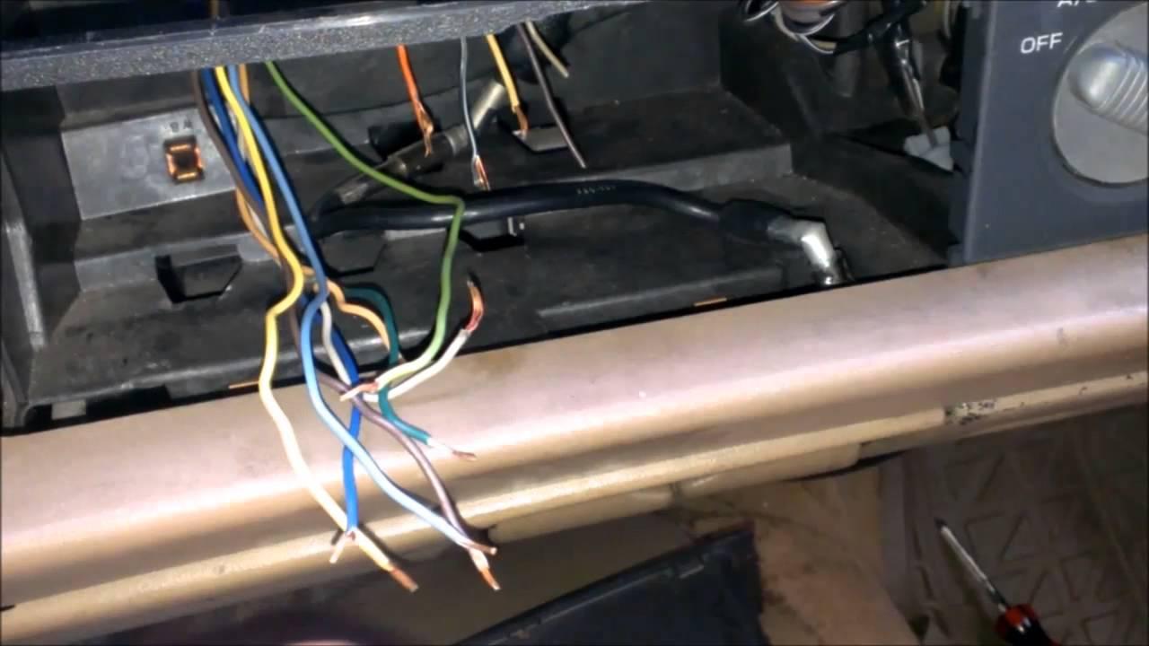 how to wire stereo blazer jimmy bravada sonoma s10  YouTube