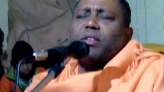 Sudhir Maharaj of Bharat Sevashram Sangha singing a New Song