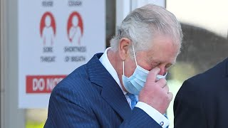 video: Prince Charles laughs off Harry and Meghan question on first official appearance since interview