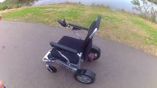 Extended Overview of The Eagle Folding Power Wheelchair