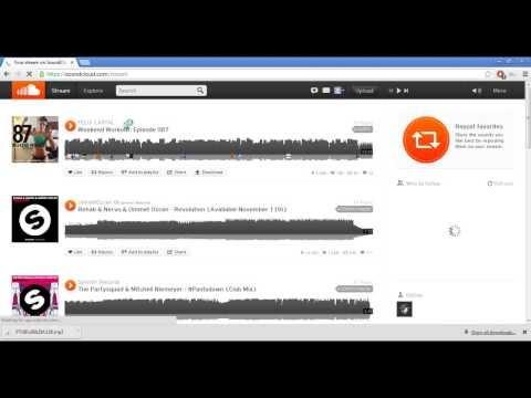 Como bajar musica para uso comercial desde SoundCloud