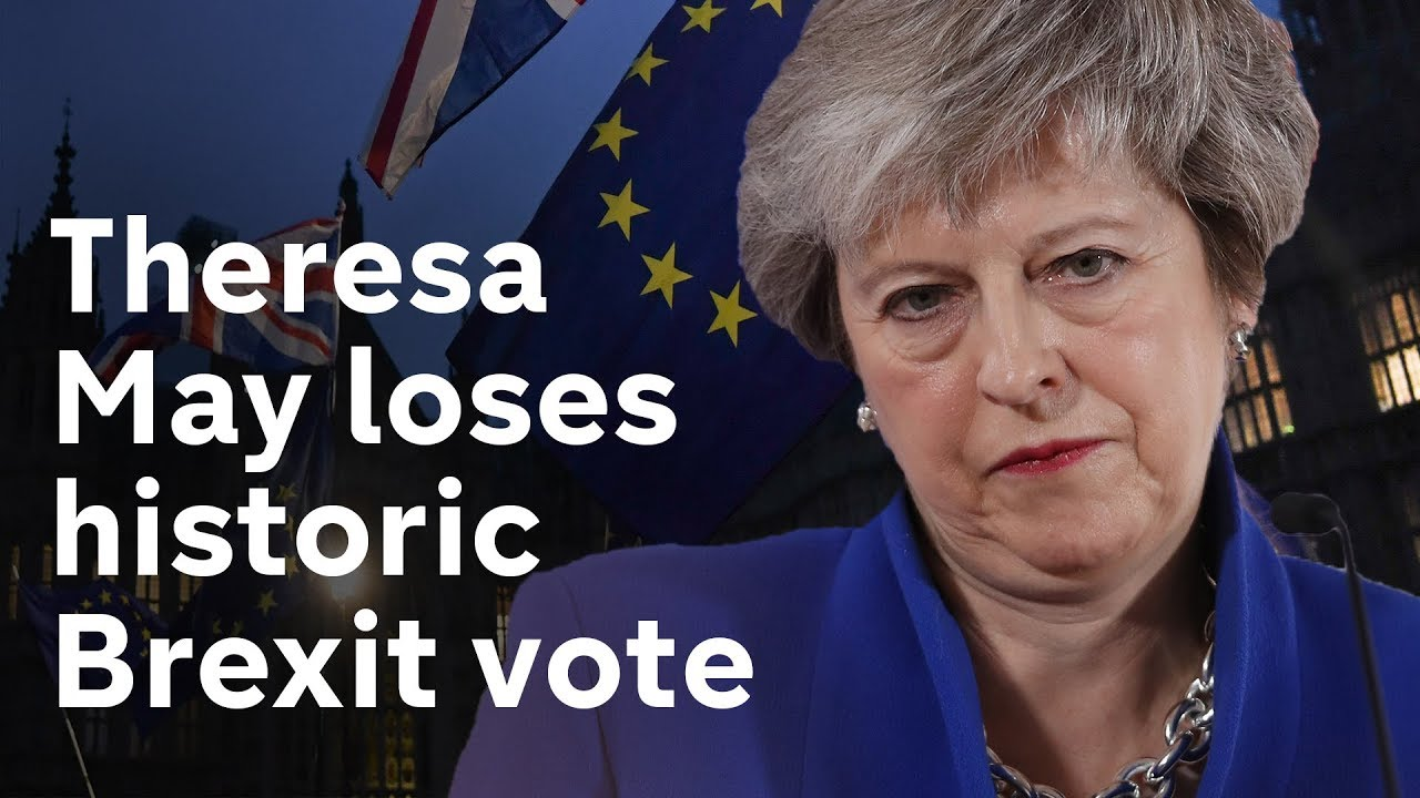 May loses Brexit vote - what happens next?