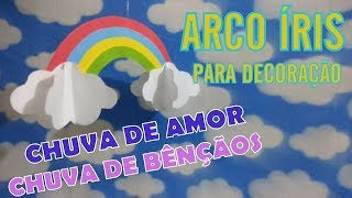 Arco iris png chuva de amor