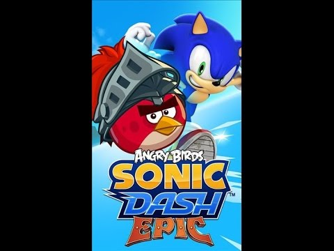 Sonic Dash Epic ~Red Angry Bird ~Gameplay~
