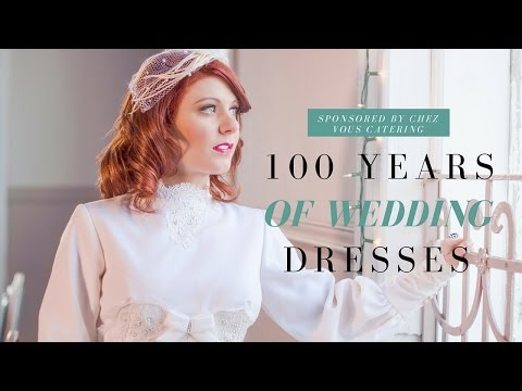 100 Years of Nontraditional Wedding Dresses