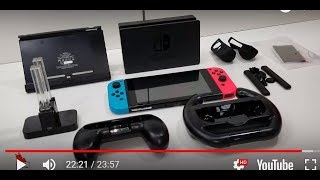Recommended Accessories for the Nintendo Switch