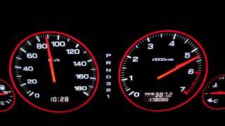 レガシィ Bh5 B-sport 0-100km
