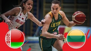 Belarus v Lithuania - Final - Full Game - FIBA U18 Women's European Championship Division B 2018