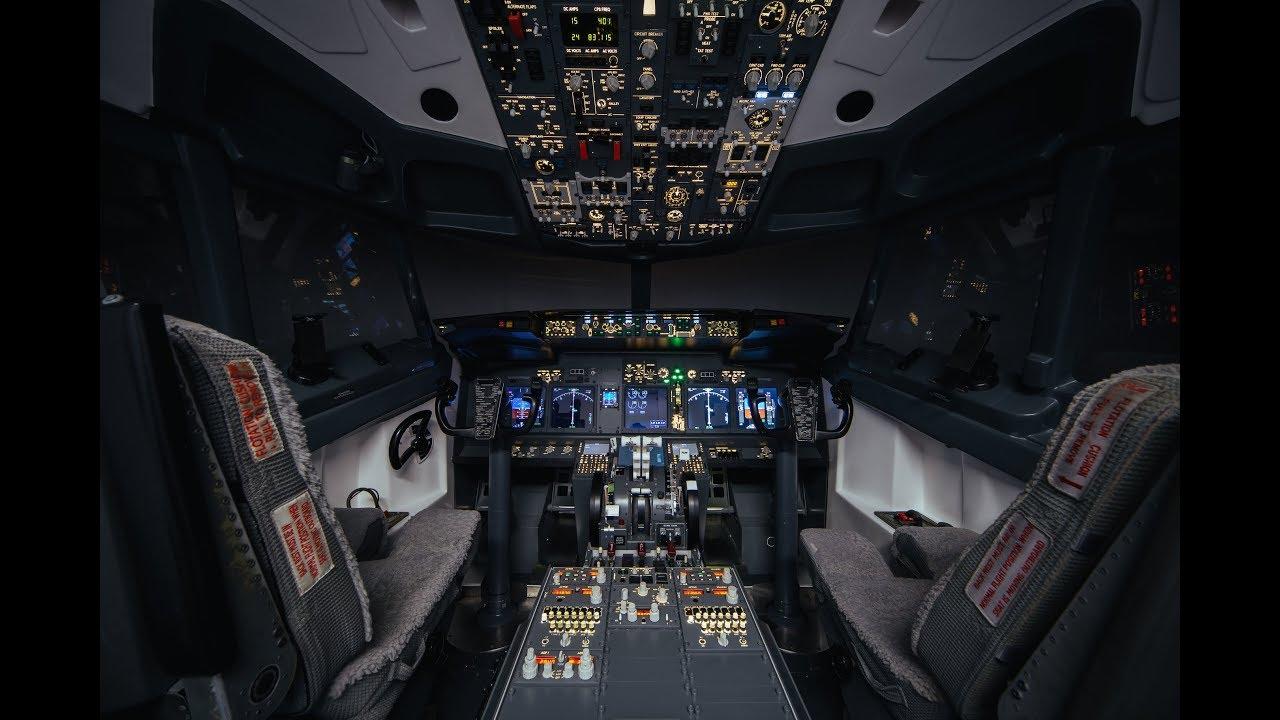 B737 Turnkey Flight Simulator - Fixed Base Trainer - FTD - simworld