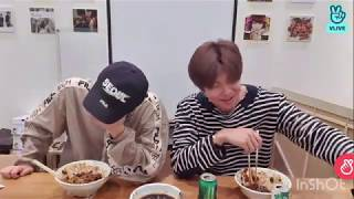 Namjoon and Jin Vlive 200524. Namjin laughing compilation