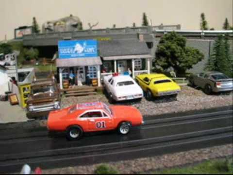 MY SLOT CAR TRACK DUKES OF HAZZARD STYLE