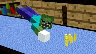 Monster School: Bowling - Minecraft Animation