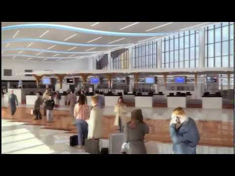 Virtual Tour Of Atlanta's New International Terminal