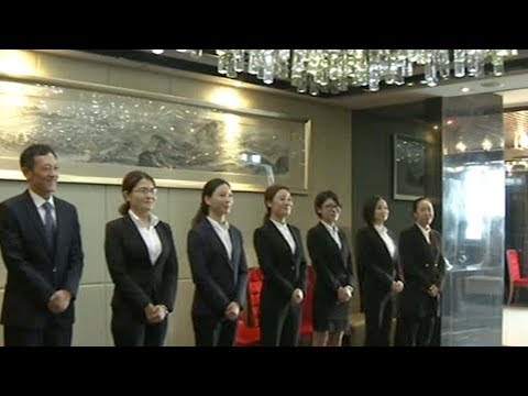 European school in Sichuan trains China's next generation of butlers