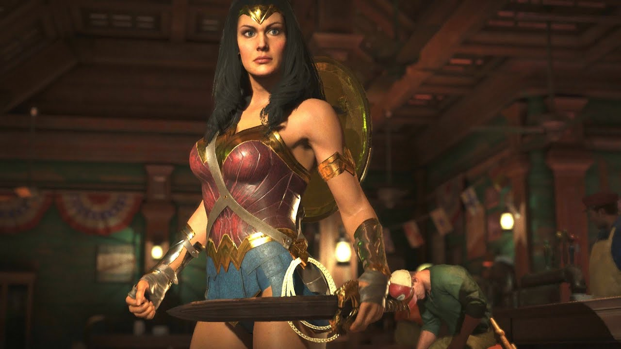 Injustice 2 - Wonder Woman Movie Level 20 Epic Gear Gal -3540