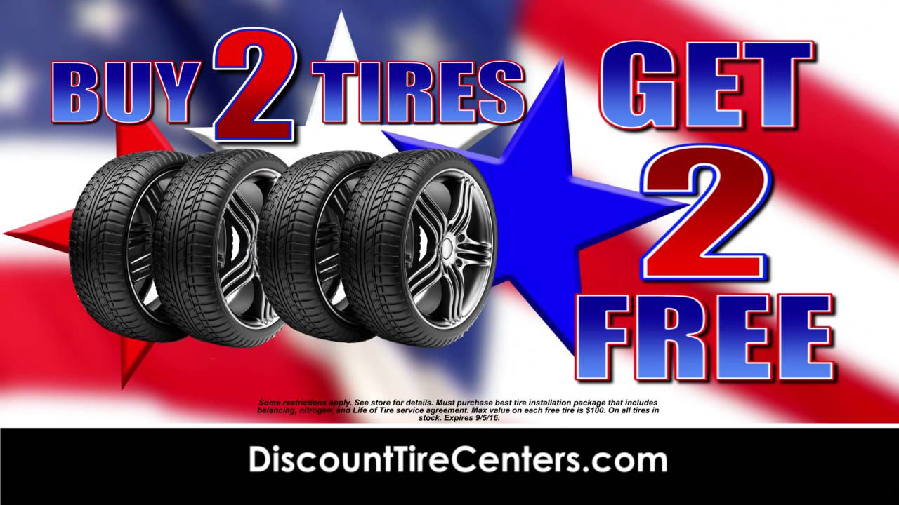 Discount Tire Labor Day Sale >> Discount Tire Centers Huge Labor Day Sale
