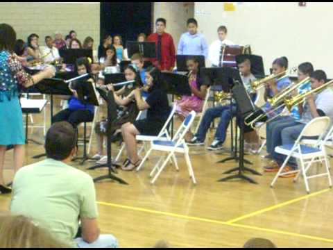 Land of a Thousand dances sixth grade band elise middle school