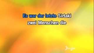 Karaoke Der letzte Sirtaki - Rex Gildo *