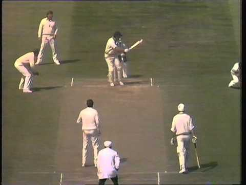 Richard  Hadlee 92*, v England, Nottingham 1983