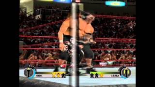 2PLAYERS: WWE Day Of Reckoning 2 Gamecube Emulator PC  Gameplay