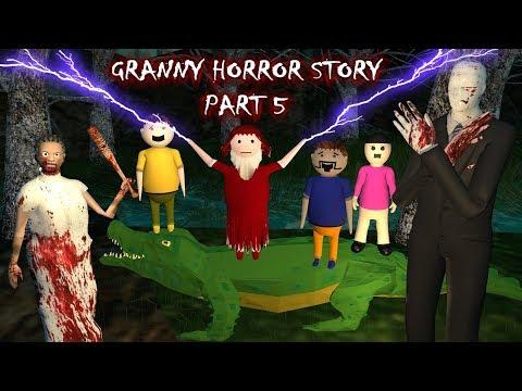 Android Games - Granny Horror Story Part 5 (Animated Cartoon For Kids) Make Joke Horror